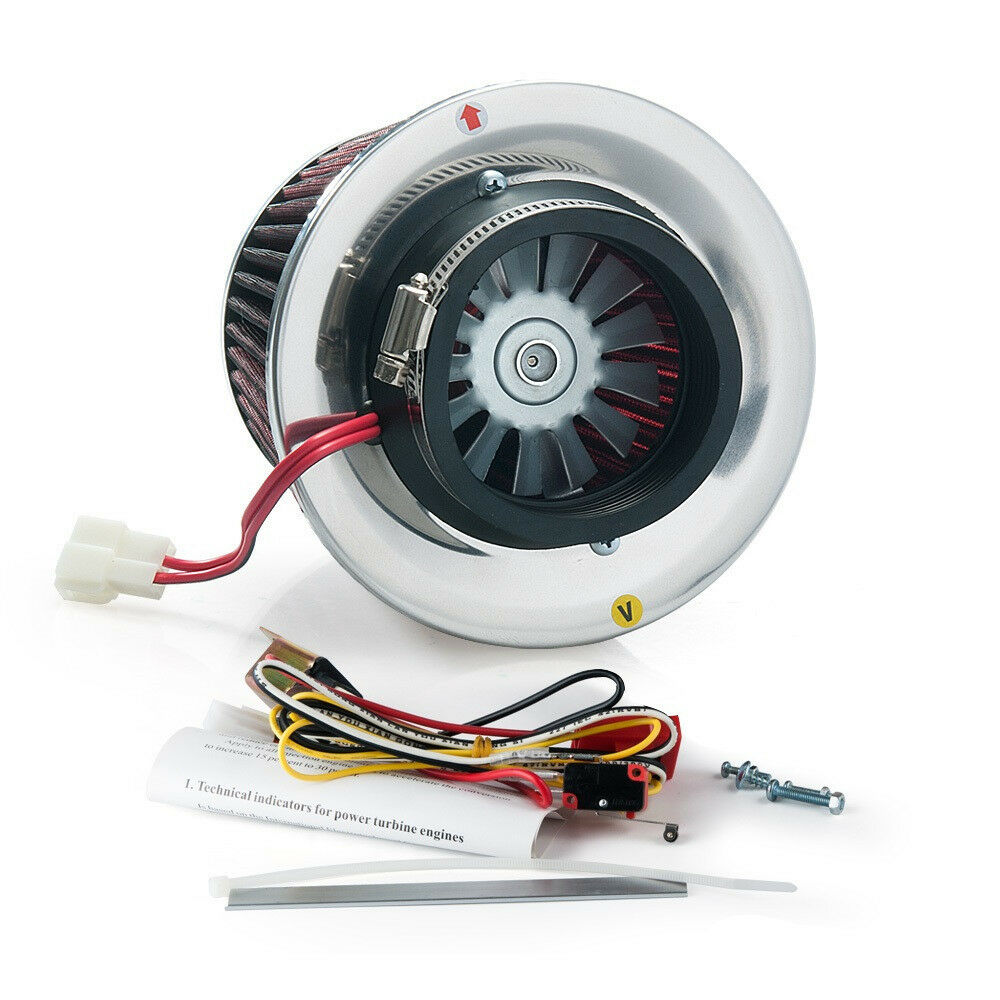 Supercharger Air Cleaner : Turbo kit electric supercharger air filter