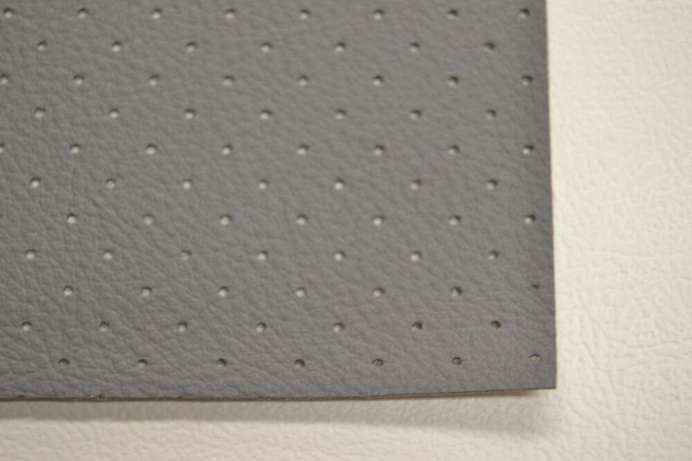 Ford Perforated Headliner Vinyl Grey Gray Material By The