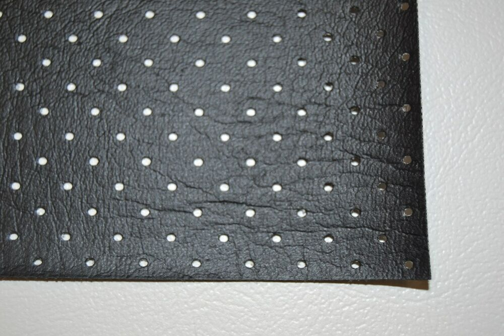 Ford Perforated Headliner Vinyl Black Material By The Yard