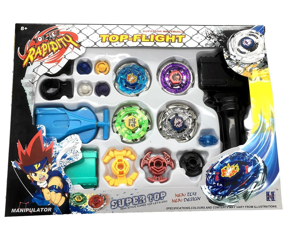 All Beyblade Toys : Beyblade metal fusion masters fight launcher rare gift toy