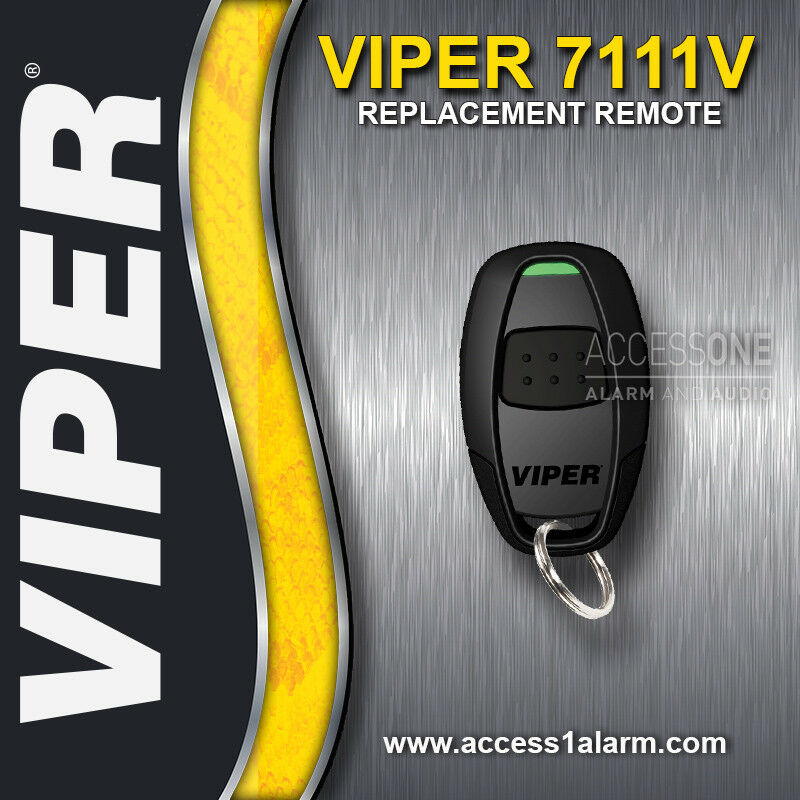 viper 7111v 1 button remote control replacement transmitter fob for rh ebay com Viper Remote Start Troubleshooting Viper Remote Battery