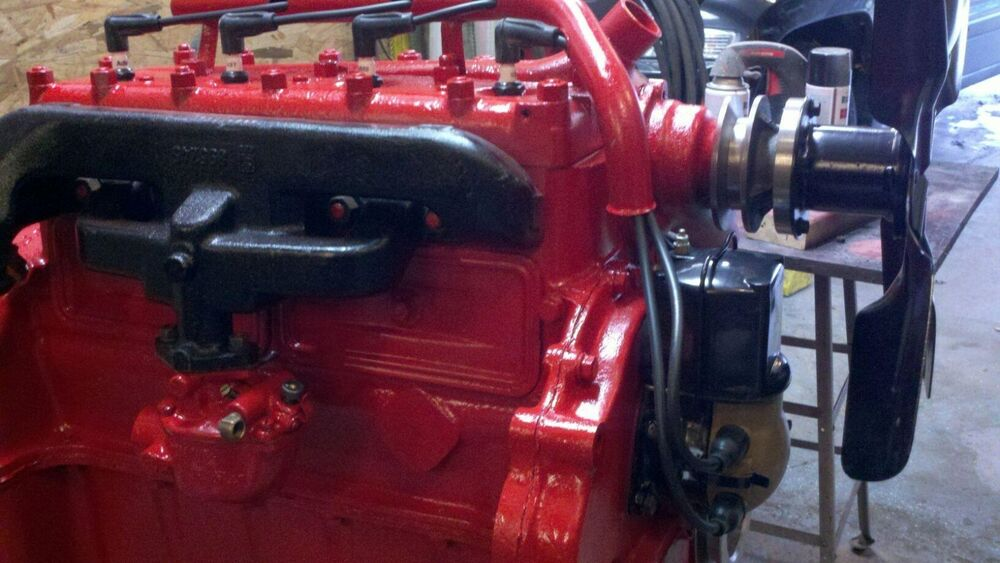 Restored Ford 9n : N ford tractor motor engine completely restored