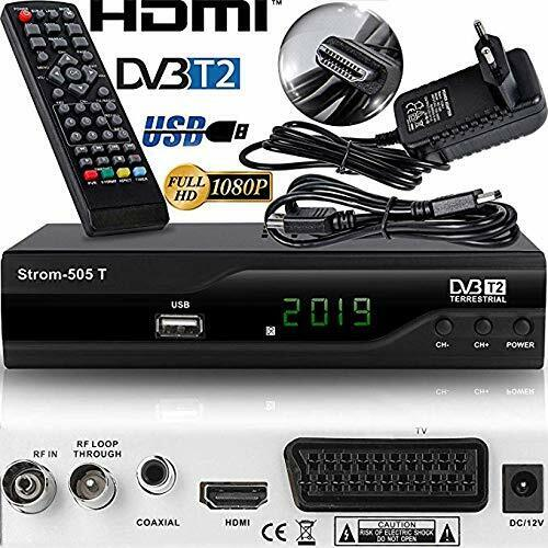 digitaler dvb t dvb t2 hd receiver aufnahmefunktion pvr hdmi usb scart ebay. Black Bedroom Furniture Sets. Home Design Ideas