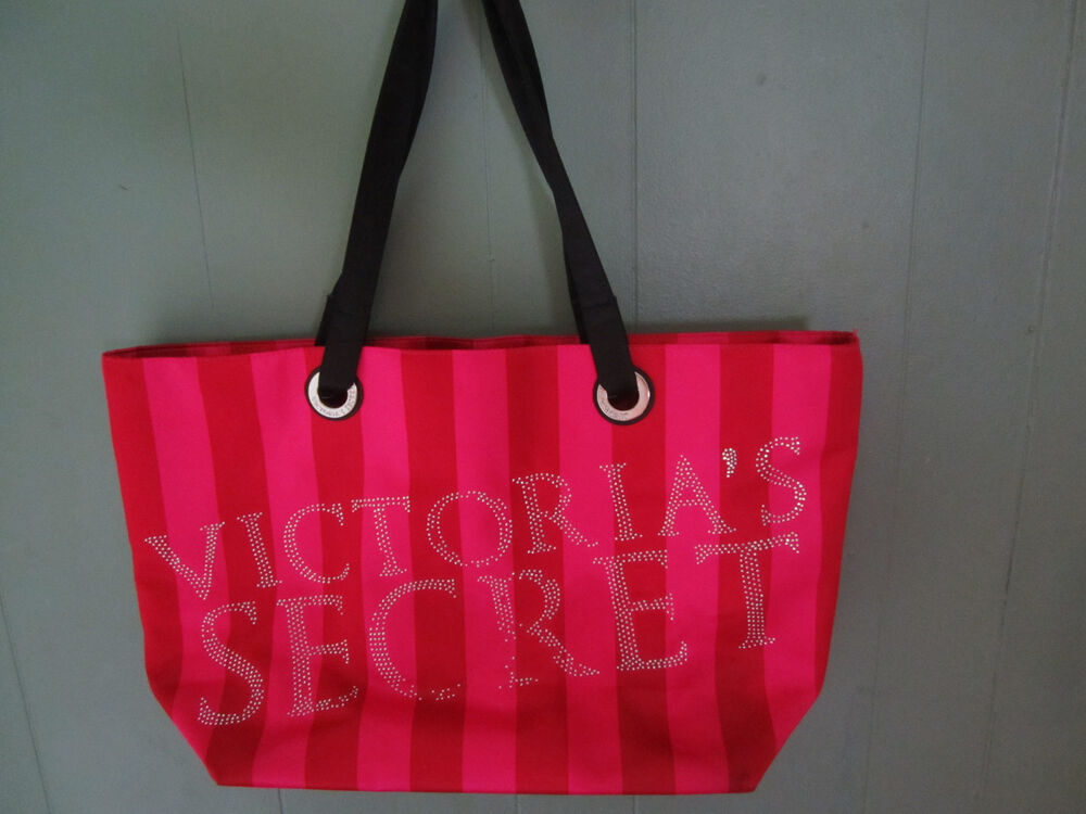 Victorias Secret Black Friday >> Victoria's Secret Pink Bling Tote Black Friday Xtra Large Bag Weekender Beach | eBay