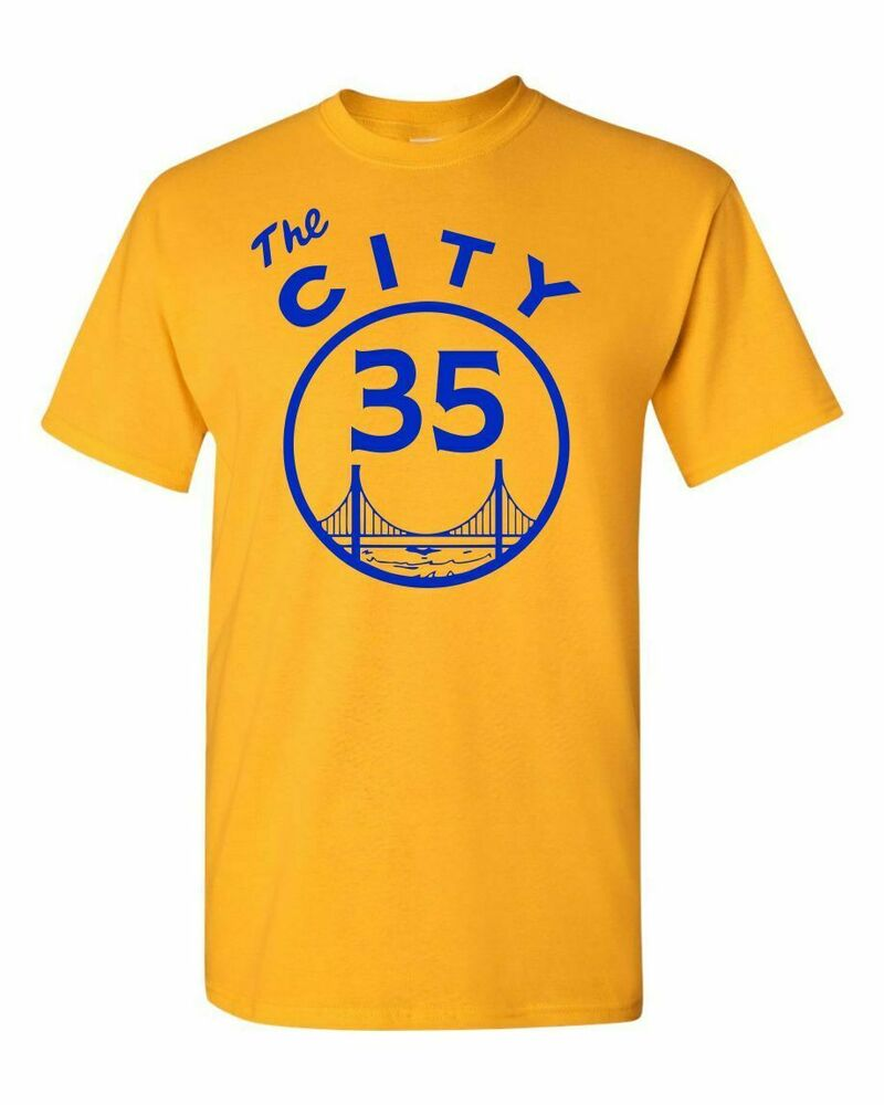 The city kevin durant 35 basketball golden gate bridge for Kevin durant weatherman shirt