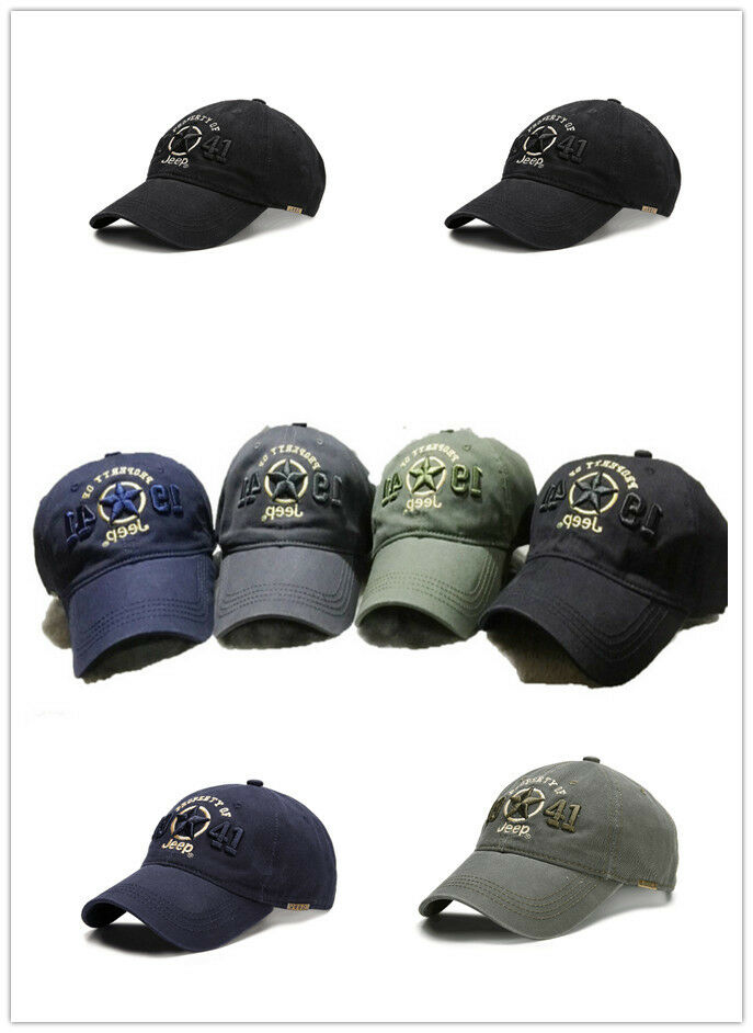 New 1941 Jeep Hat Cap Women Men Unisex baseball Golf Ball Sport cap ... 67675fc1b43e