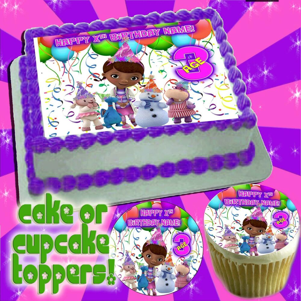 Doc Mcstuffins Edible Cake Toppers picture sugar tops ...