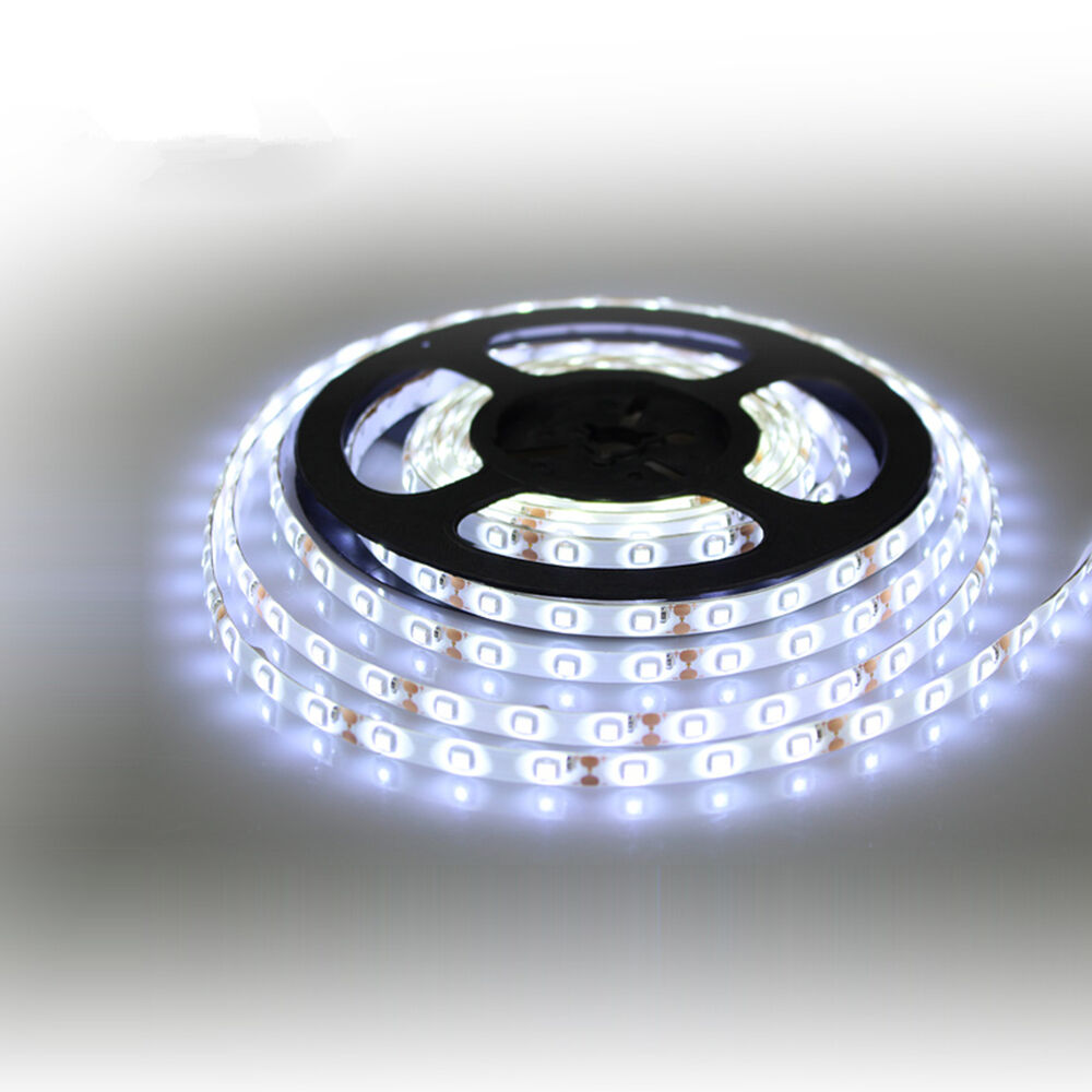 12v waterproof led strip light 5m 300leds for boat truck car suv rv white ebay. Black Bedroom Furniture Sets. Home Design Ideas