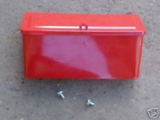 8n Ford Tractor Tool Box : N ford tractor restoration tool box exact of original