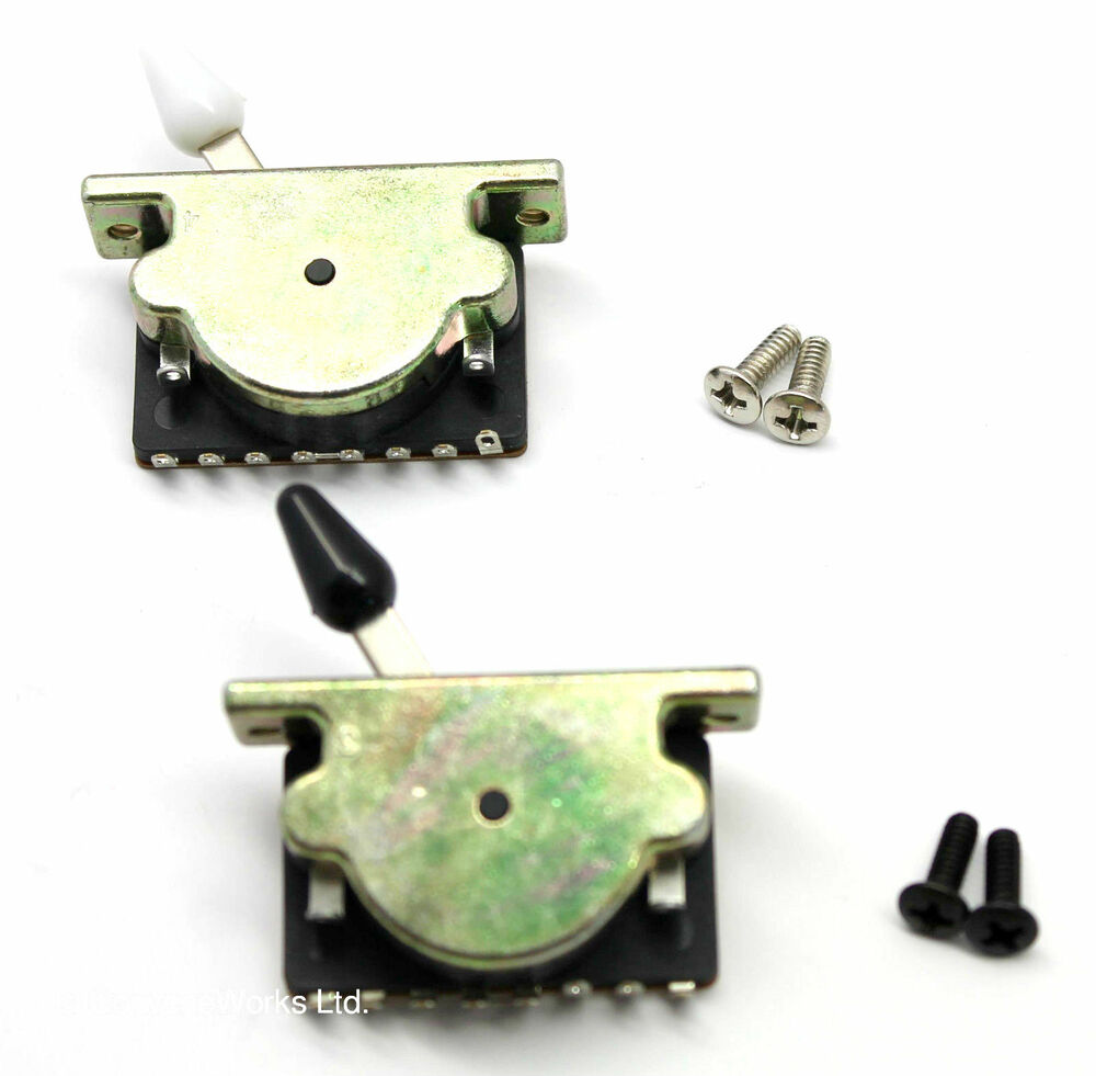 super heavy duty guitar pickup selector switch 5 way 3 way uk seller ebay. Black Bedroom Furniture Sets. Home Design Ideas