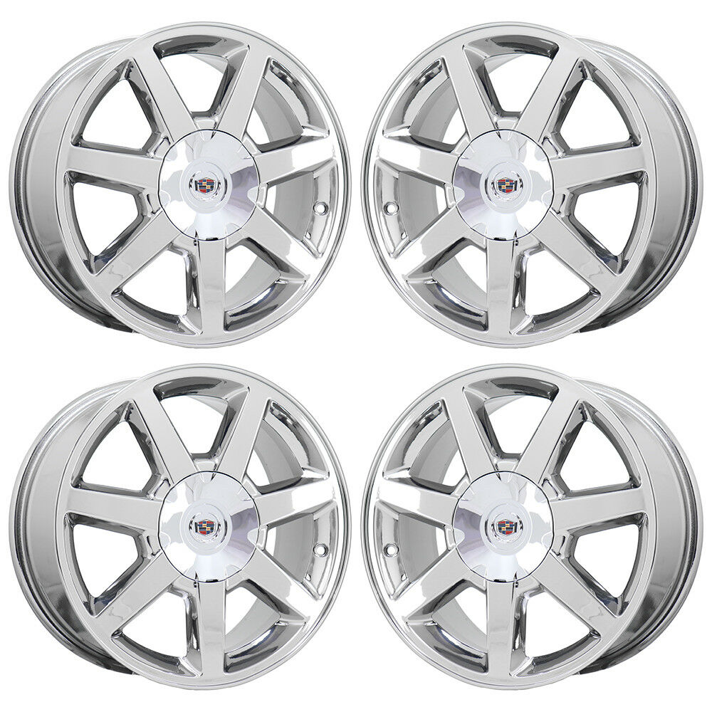 17 Quot Cadillac Dts Sts Pvd Chrome Wheels Rims 2008 2009 2010