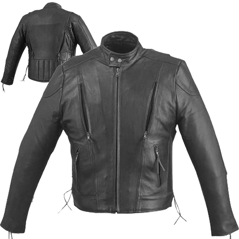Real leather biker jackets