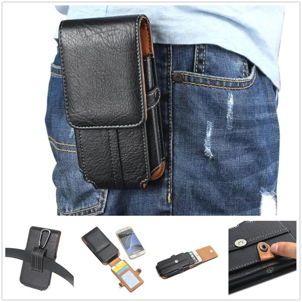 Loop Flip Leather Wallet Card Pocket Belt Phone Case Waist ...