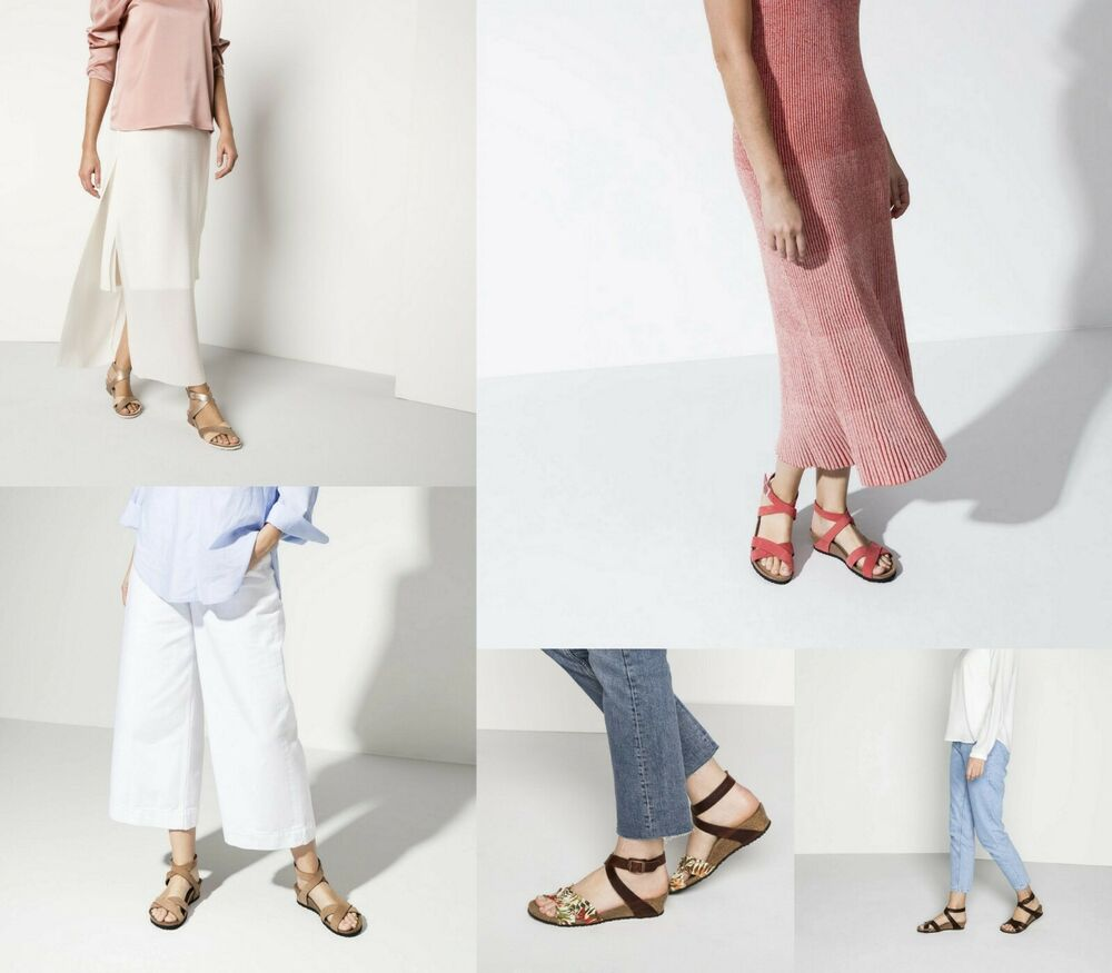 b02b6d3fd7f7 Details about BIRKENSTOCK PAPILLIO GIZEH BOHEMIAN STRIPES WOMEN S THONGS  SANDALS WOMAN PINK