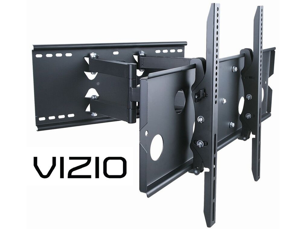 heavy duty full motion tv wall mount 37 42 50 52 55 60 inch vizio lcd led hdtv ebay. Black Bedroom Furniture Sets. Home Design Ideas