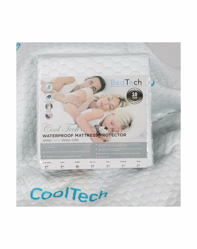 Cool Tech Mattress Protector By Easy Rest Fitted Sheet