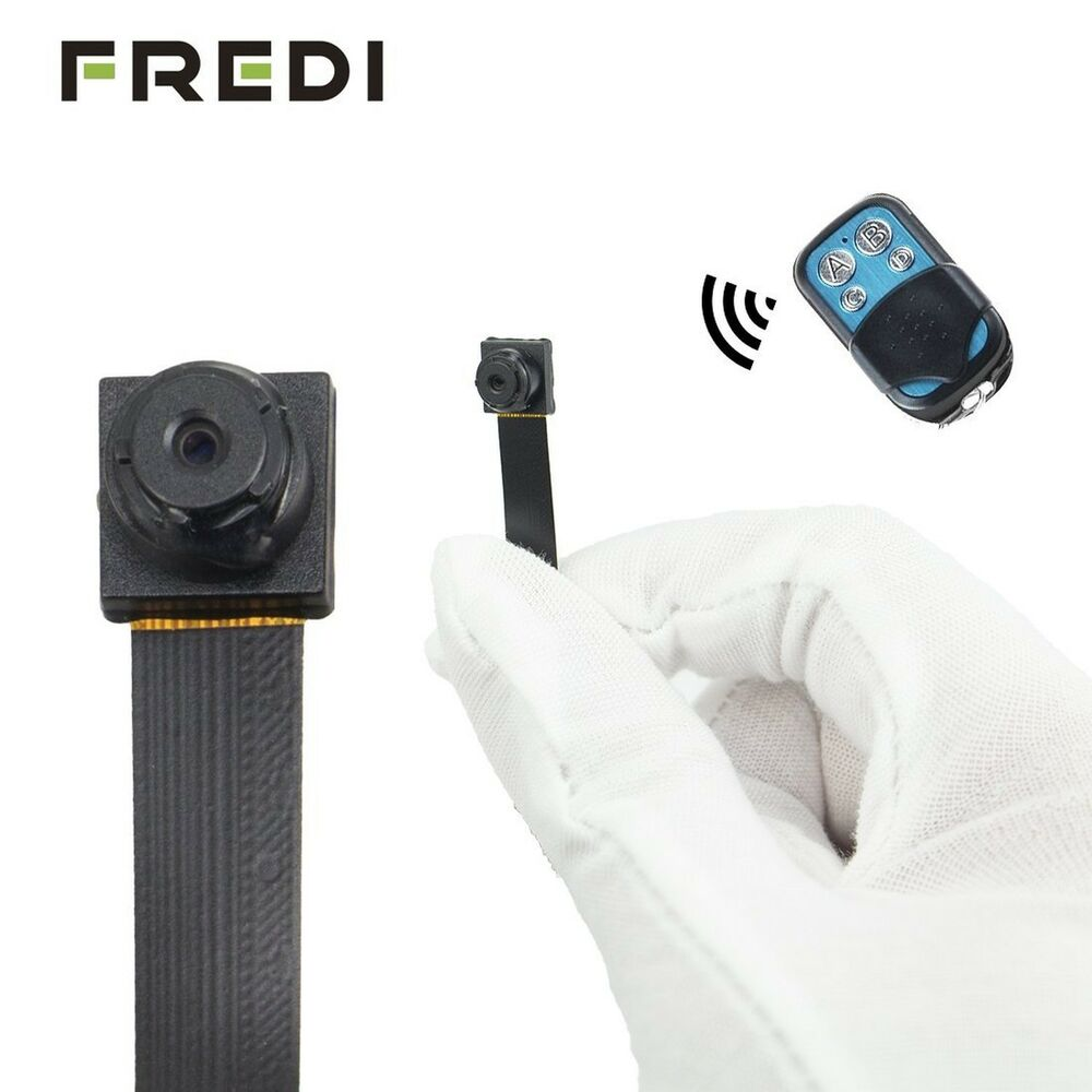 Fredi Hd 1080p 720p Mini Super Small Portable Hidden Spy