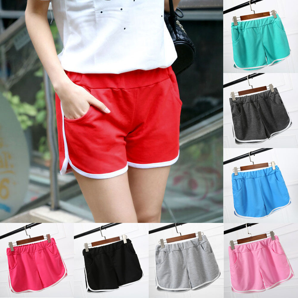 Women Hot Pants Summer Casual Lady's Yoga Sport Shorts