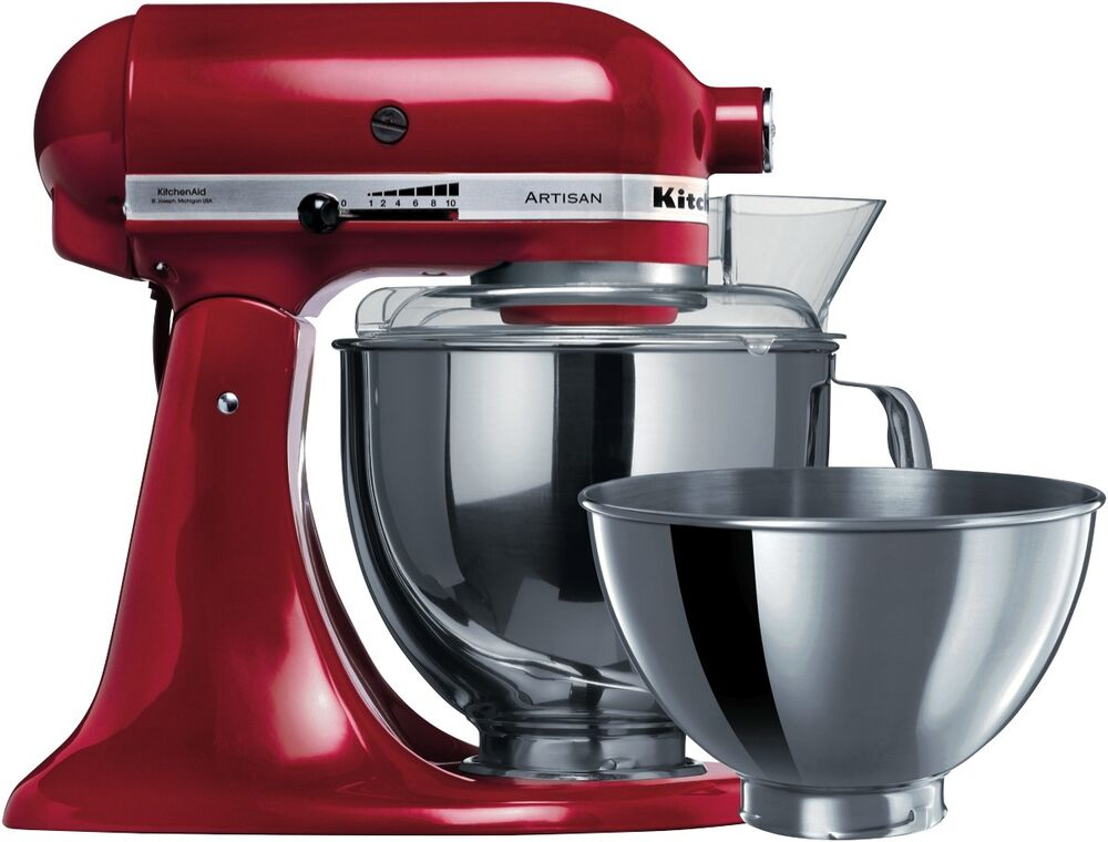 new kitchenaid 5ksm160psaer artisan stand mixer empire red ebay. Black Bedroom Furniture Sets. Home Design Ideas