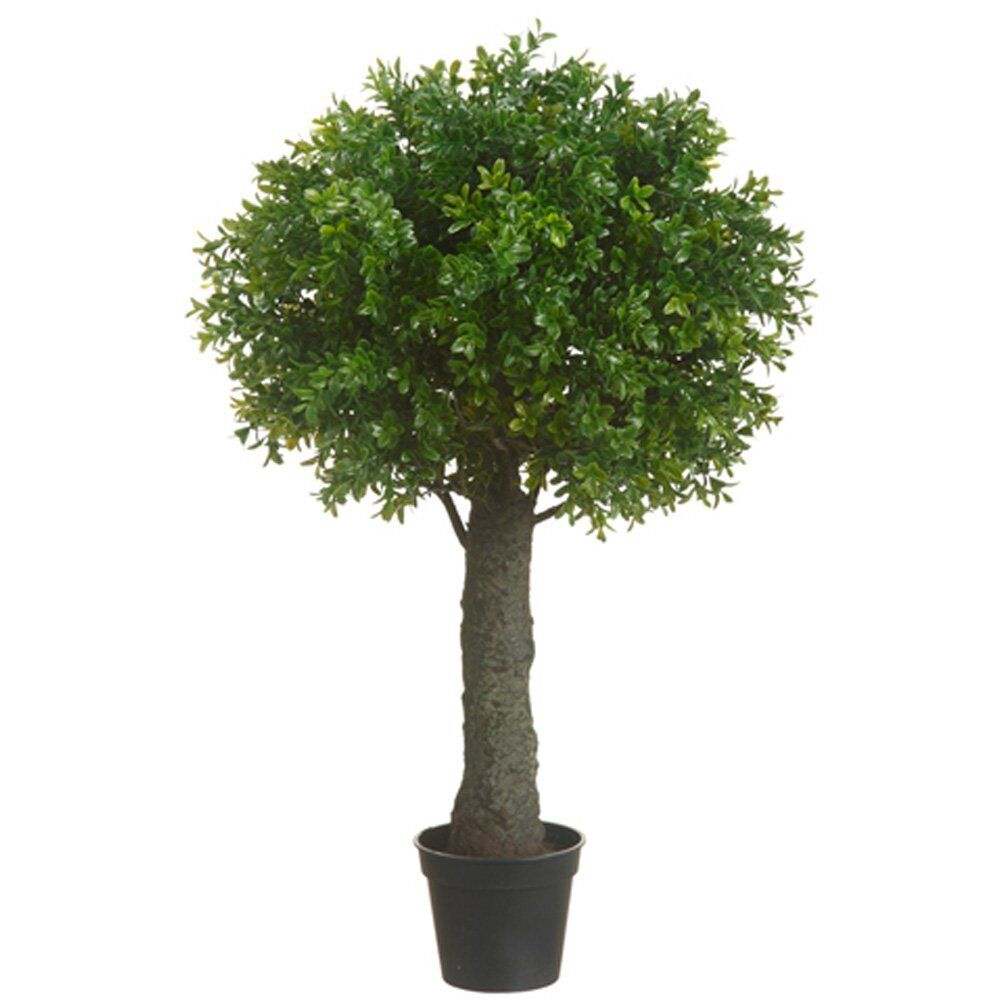 Artificial 28 Quot Outdoor Uv Boxwood Topiary Tree Bush Ball