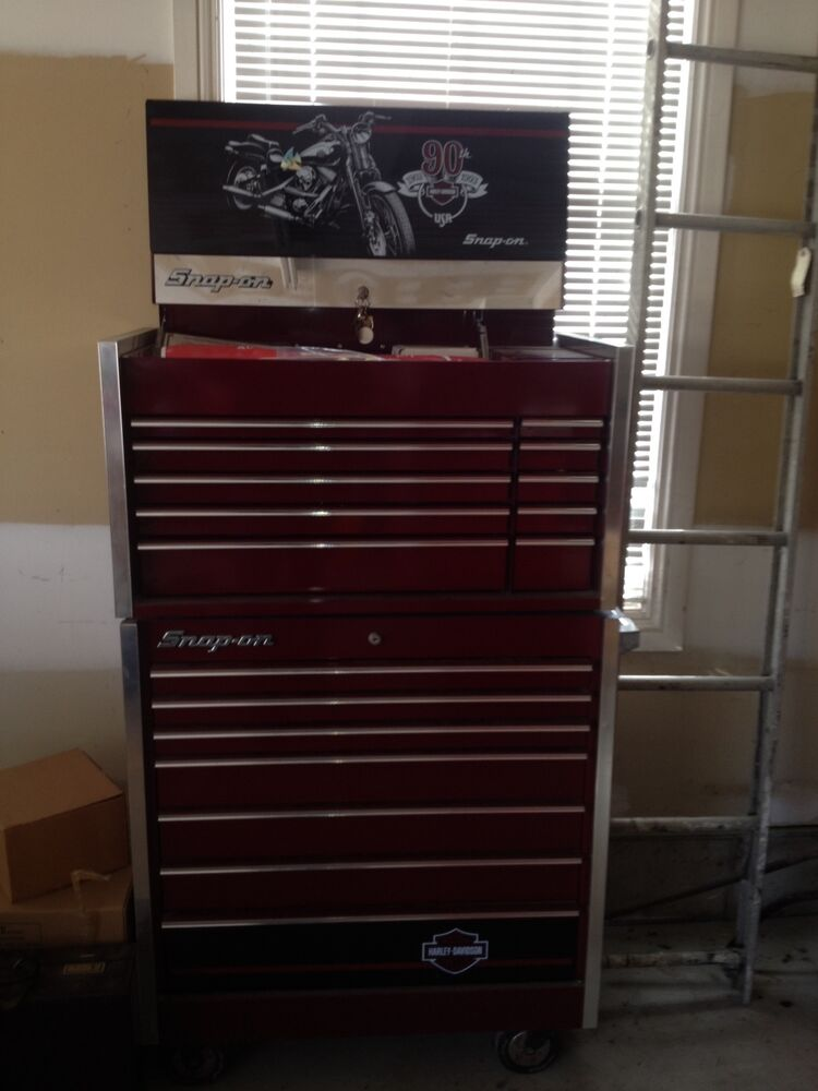 Harley Davidson Snap On Tool Box For Sale