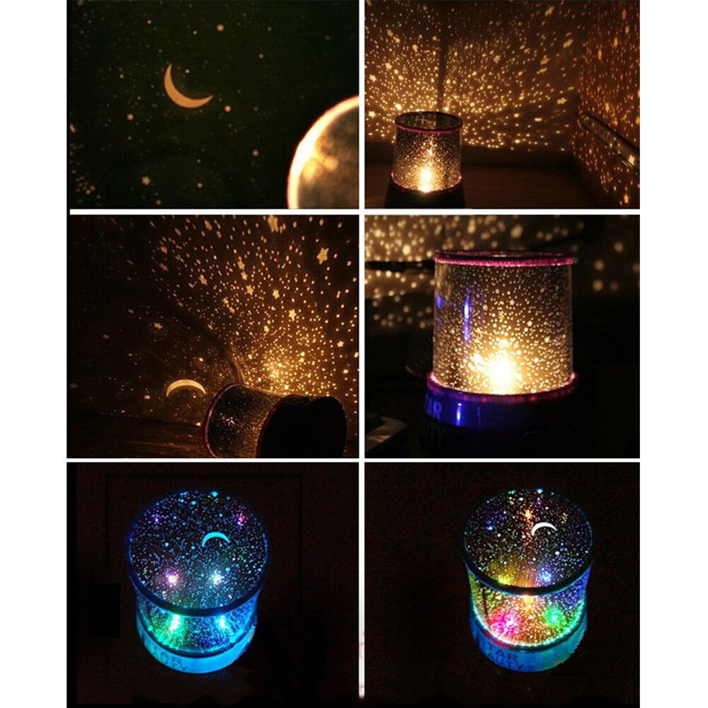 amazing led starry night sky projector lamp star light cosmos master gift ffdna ebay. Black Bedroom Furniture Sets. Home Design Ideas