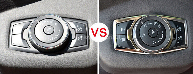 Head Light Switch Control Trim Cover For Ford F150 F 150
