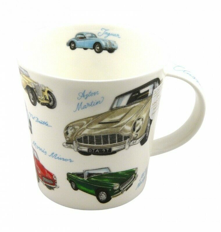 dunoon tasse fine bone china porzellan cairngorm classic collection classic cars ebay. Black Bedroom Furniture Sets. Home Design Ideas
