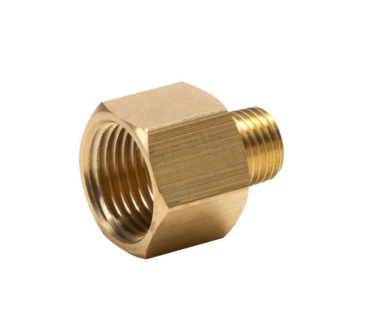 Brass adapter reducer inch female to quot male npt