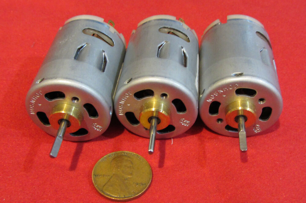 3 pack johnson electric hc315mg 12v 24v dc motor 9 000 for A and l motors