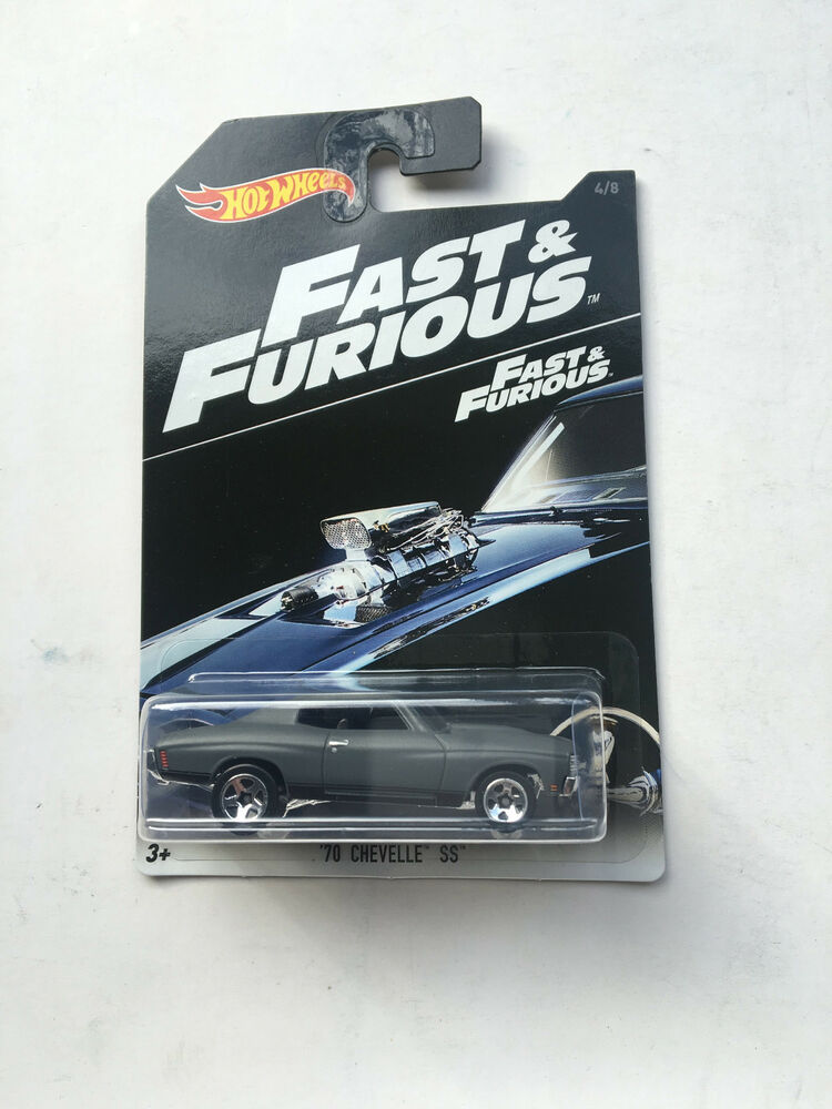 2016 hot wheels fast and furious 70 chevelle ss new ebay. Black Bedroom Furniture Sets. Home Design Ideas