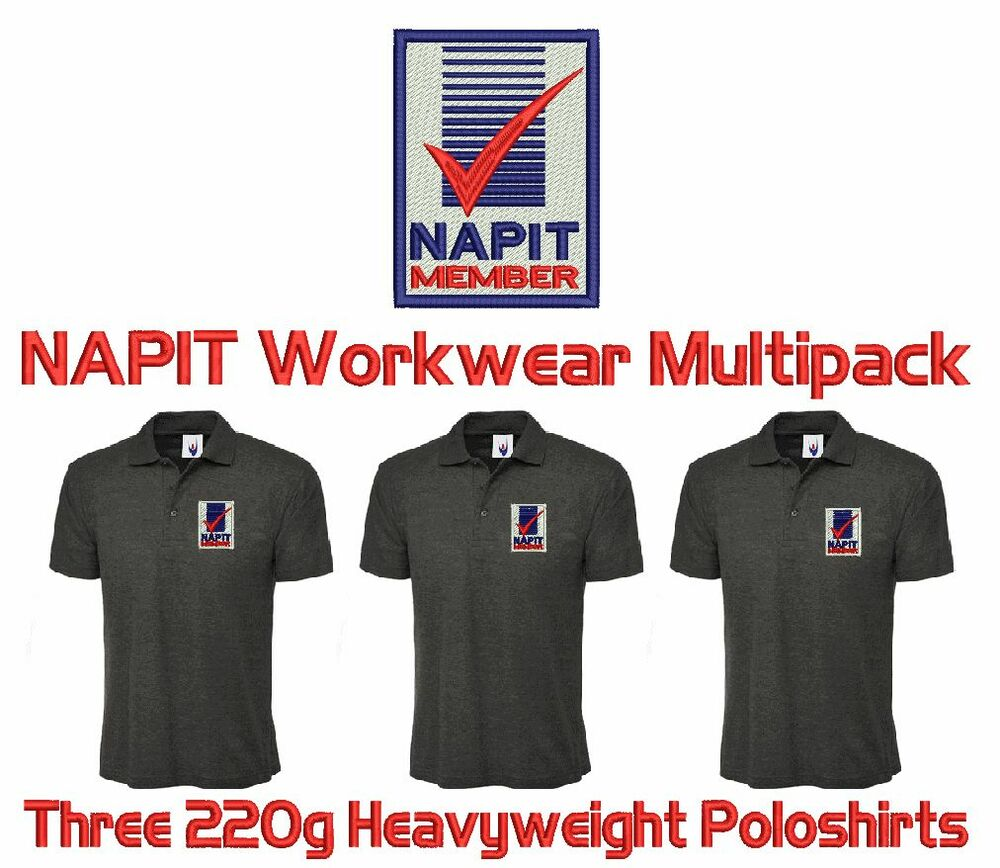 Embroidered Polo Shirts Workwear Rockwall Auction