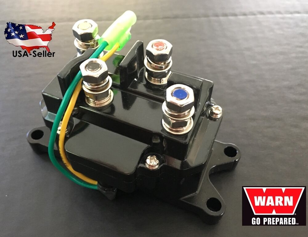 ATV    Winch    Contactor Solenoid Relay Switch For Warn   63070