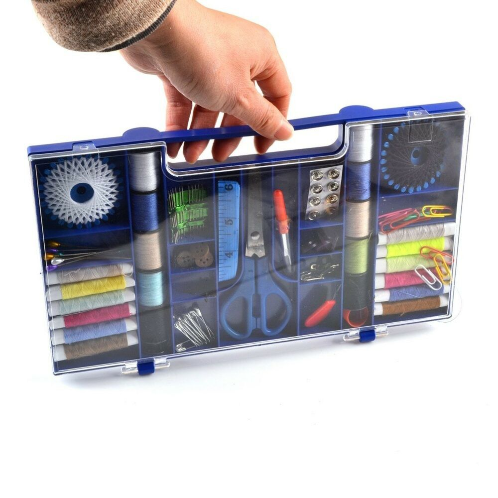 sewing supplies variety sets and thread kits for arts and crafts by ezthings ebay. Black Bedroom Furniture Sets. Home Design Ideas
