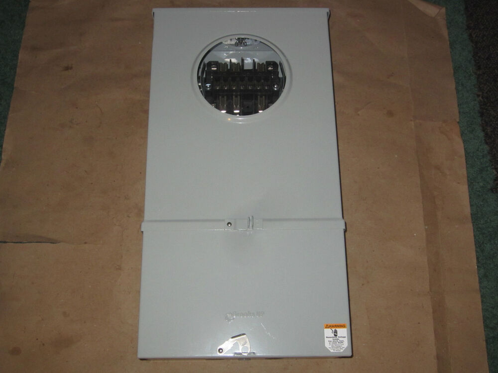 New Brooks Circuit Breaker Electric Meter Enclosure Panel