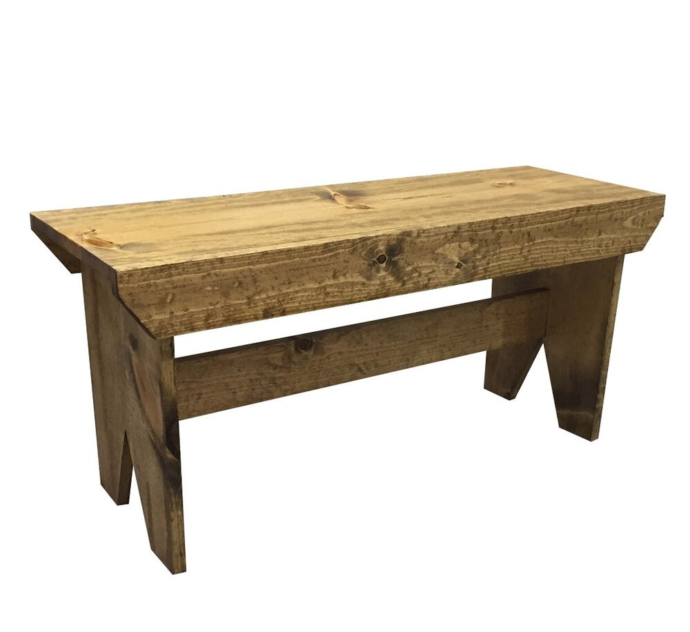 Country Farmhouse Bench Ebay