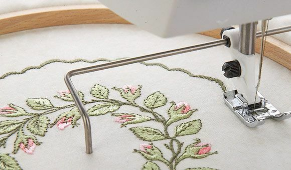 circular attachment for sewing machine