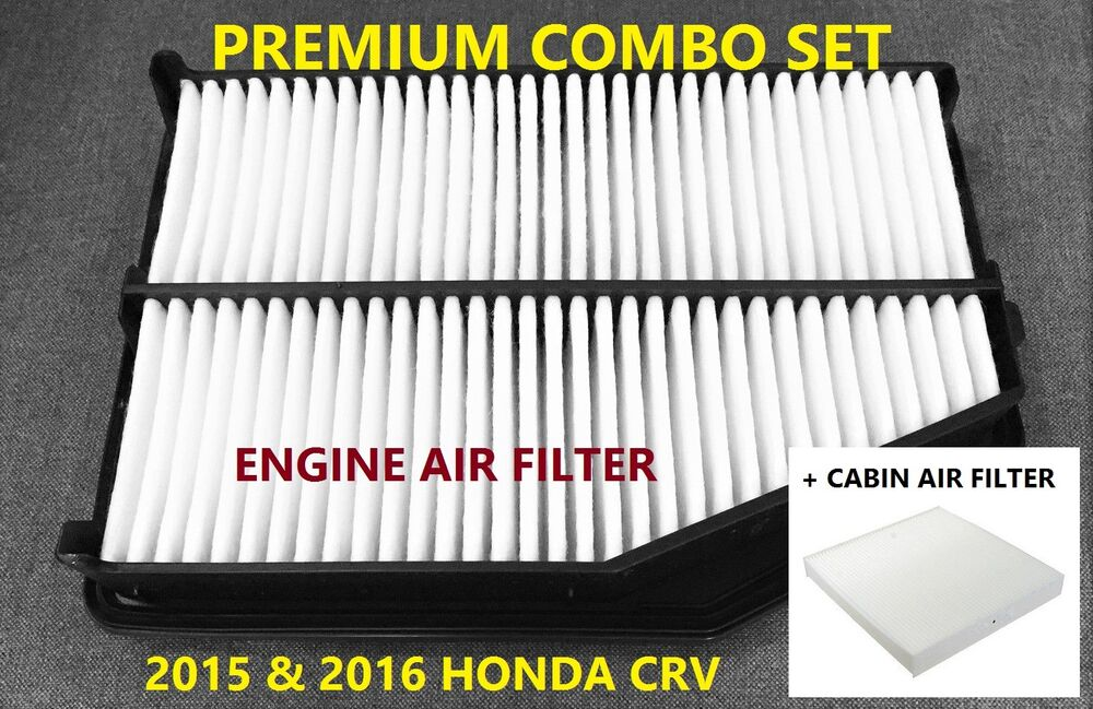 Premium Combo Set Engine Amp Cabin Air Filter For 2015 2016