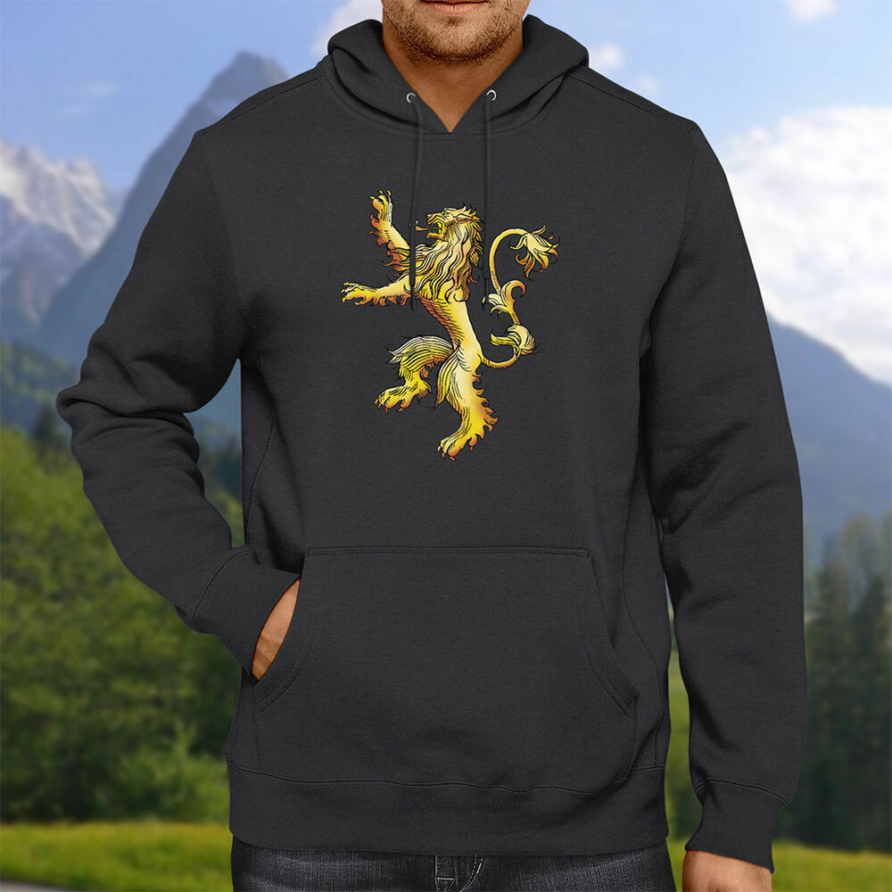 game of thrones house lannister cersei hooded sweater. Black Bedroom Furniture Sets. Home Design Ideas