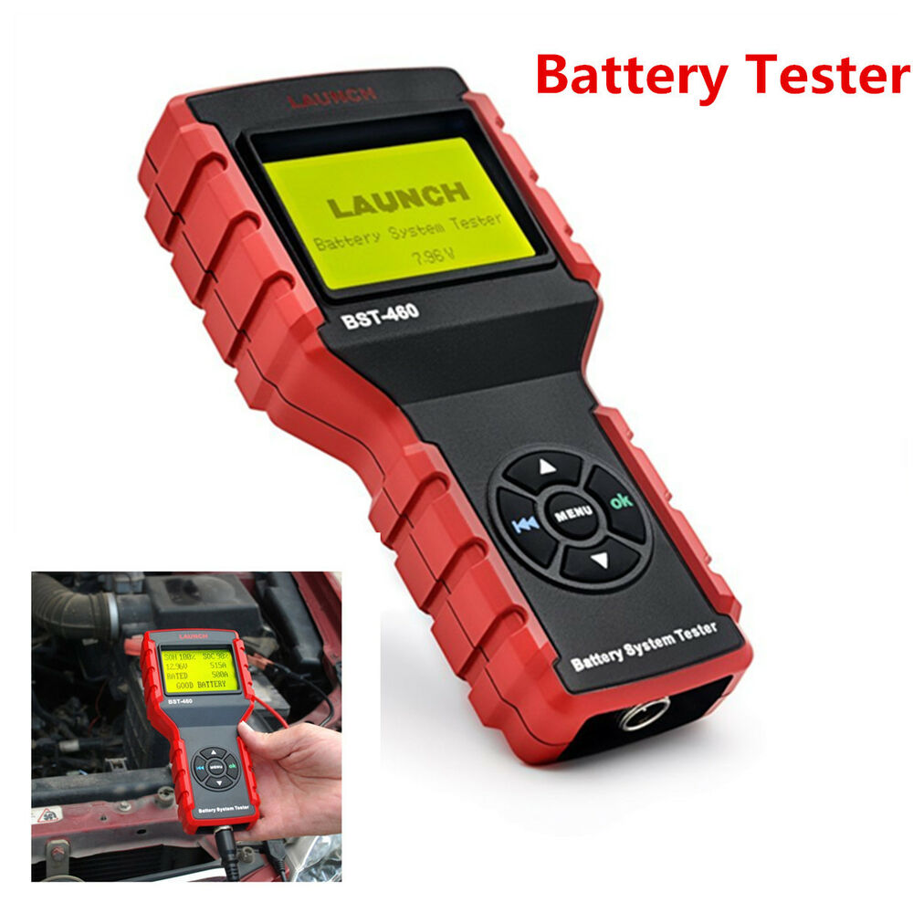 car auto battery tester diagnostic car battery professional test tool universal ebay. Black Bedroom Furniture Sets. Home Design Ideas