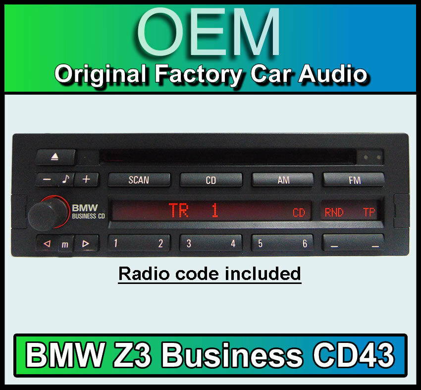 Bmw Z3 Cd Player Bmw Cd43 Radio Car Stereo Head Unit