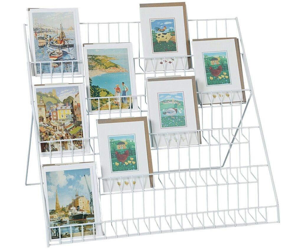 5 Tier Display Stand Store Books Greeting Cards