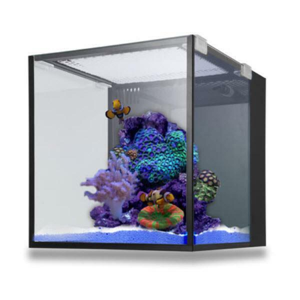nuvo aquarium fusion nano 10 tank only innovative marine ebay. Black Bedroom Furniture Sets. Home Design Ideas