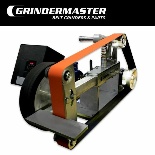Belt grinder with 2 hp motor vfd grindermaster ebay for Vfd for 5hp motor