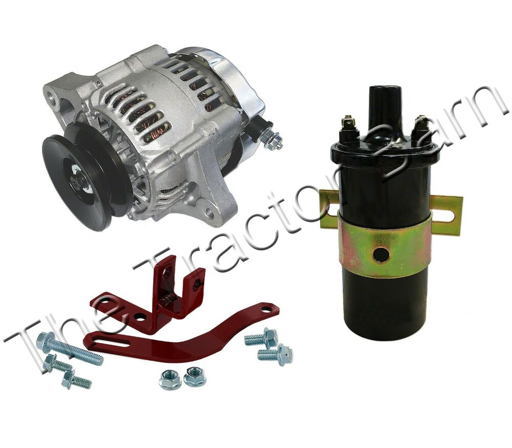 Re Alternator Conversion Farmall Ih Cub Lo Boy 12 Volt Kit Loboy Tractor 6 Ebay