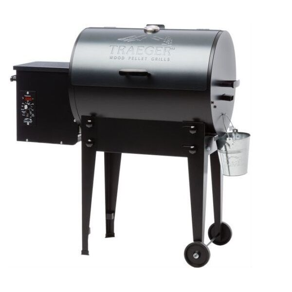 Traeger Tfb30lub Blue Lid Tailgater Electric Pellet Grill