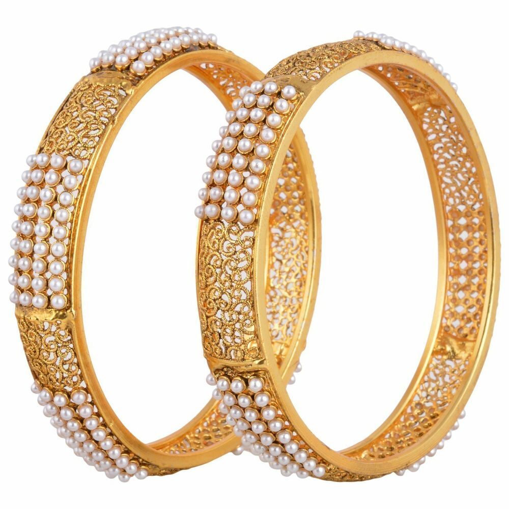 Indian fashion jewelry bangles bracelets bollywood ethnic for East indian jewelry online