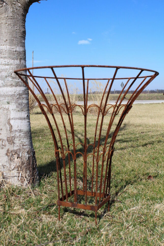 Wrought Iron Round Cone Topiary Garden Plant Support