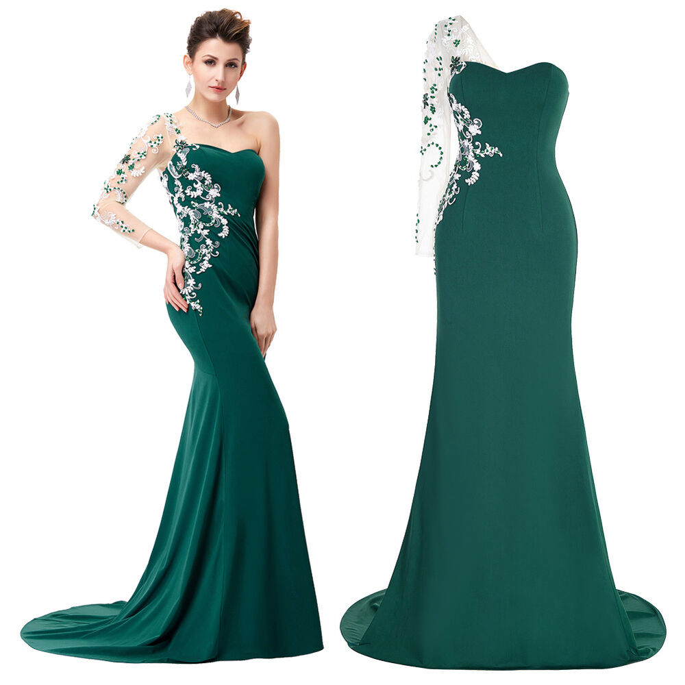 mermaid long prom dresses wedding celebrity party cocktail