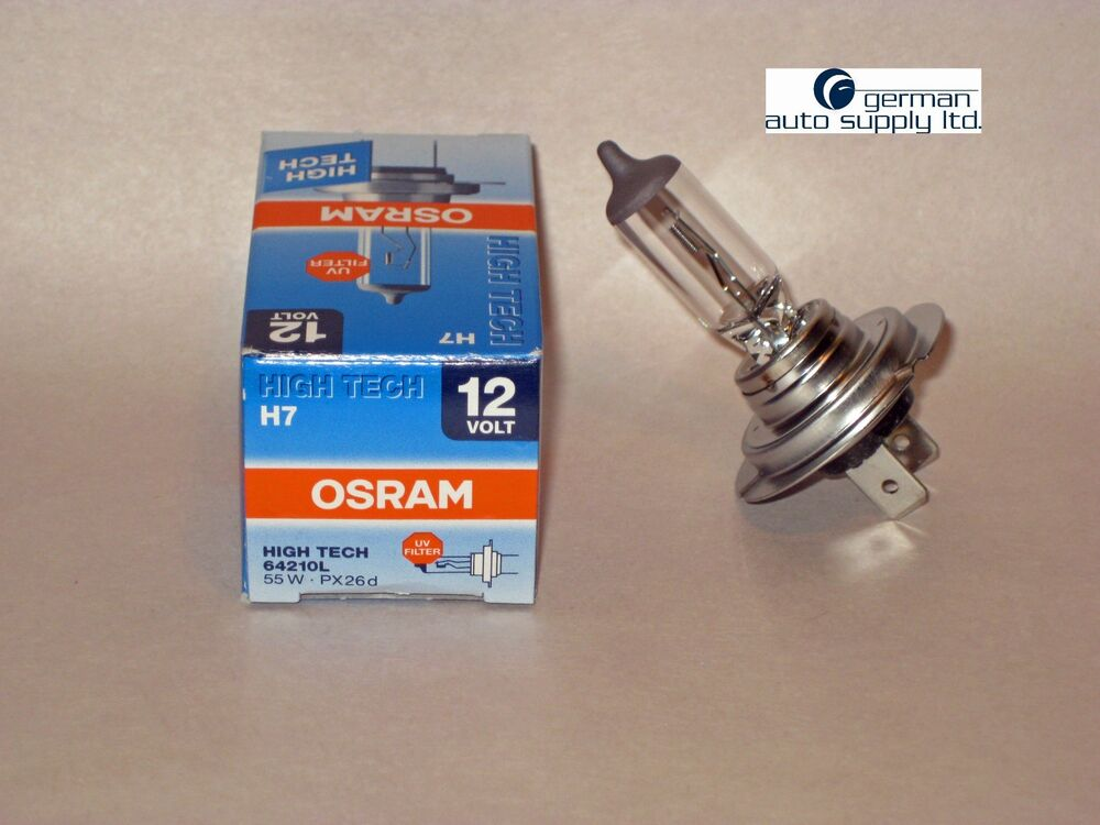 osram sylvania halogen long life bulb 64210l h7. Black Bedroom Furniture Sets. Home Design Ideas